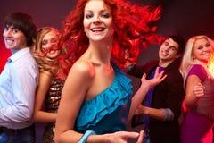 Ragazza di Dancing Immagini Stock Libere da Diritti