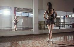 Ragazza di Dancing Immagine Stock