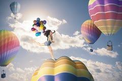 Ragazza di felicità Fotografia Stock