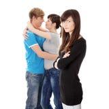 Ragazza di gelosia. Fotografia Stock Libera da Diritti