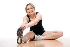 Ragazza di ginnastica Fotografie Stock