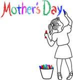 Ragazza di giorno della madre