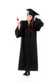 Ragazza di graduazione Immagine Stock Libera da Diritti