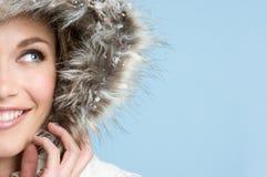 Ragazza di inverno Fotografie Stock Libere da Diritti
