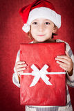 Ragazza di Natale Fotografia Stock Libera da Diritti