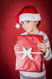 Ragazza di Natale Fotografie Stock Libere da Diritti