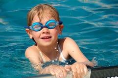 Ragazza di nuoto Immagine Stock Libera da Diritti