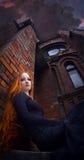 Ragazza di Redhead Fotografia Stock
