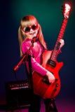 Ragazza di rock-and-roll immagine stock