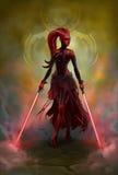 Ragazza di Sith fotografie stock libere da diritti