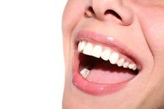 Ragazza di sorriso Fotografia Stock