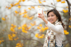 Ragazza di sorriso Immagine Stock Libera da Diritti