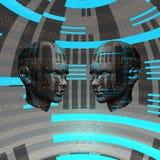 Ragazza di Techno royalty illustrazione gratis