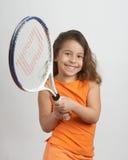 Ragazza di tennis Immagini Stock