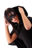 Ragazza di Zorro Fotografia Stock Libera da Diritti