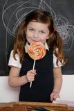 Ragazza e lollipop Immagine Stock Libera da Diritti