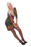 Ragazza favorita Blond-haired Immagini Stock Libere da Diritti