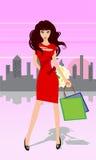 Ragazza felice Royalty Illustrazione gratis