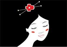 Ragazza giapponese Immagini Stock Libere da Diritti