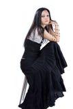 Ragazza gotica Fotografia Stock Libera da Diritti