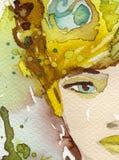Ragazza graziosa royalty illustrazione gratis
