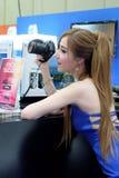 Ragazza graziosa Fotografia Stock