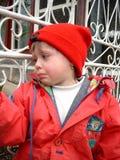 Ragazza gridante Fotografie Stock Libere da Diritti