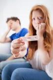 Ragazza incinta adolescente Fotografia Stock