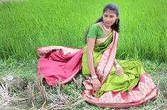 Ragazza indiana Immagine Stock
