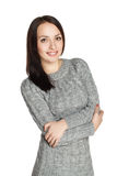 Ragazza in maglione Fotografia Stock Libera da Diritti