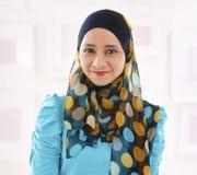 Ragazza musulmana Fotografia Stock Libera da Diritti