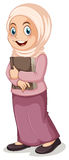 Ragazza musulmana royalty illustrazione gratis