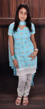 Ragazza nel vestito del punjabi Fotografia Stock