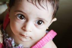 Ragazza neonata fotografia stock