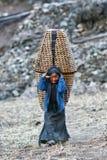 Ragazza nepalese Fotografie Stock Libere da Diritti