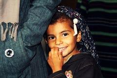 Ragazza orfana Fotografia Stock