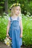 ragazza piccolo Fotografia Stock Libera da Diritti