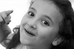 ragazza piccolo Fotografie Stock Libere da Diritti