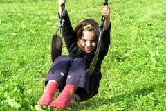 ragazza piccolo che gioca Immagini Stock Libere da Diritti