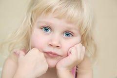 ragazza poco ritratto Fotografia Stock Libera da Diritti