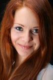 Ragazza rossa dei capelli fotografia stock libera da diritti