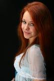 Ragazza rossa dei capelli immagine stock libera da diritti