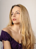 Ragazza seducente Fotografia Stock