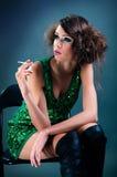 Ragazza sexy Fotografia Stock