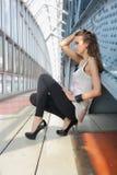 Ragazza sexy Fotografie Stock Libere da Diritti