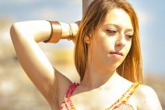 Ragazza sexy Fotografia Stock Libera da Diritti