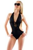 Ragazza sexy in bikini fotografia stock
