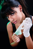 Ragazza sexy del brunette Immagine Stock Libera da Diritti