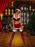 Ragazza sexy della Santa Royalty Illustrazione gratis