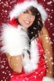 Ragazza sexy della Santa Fotografia Stock Libera da Diritti